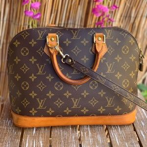 🌸🌸Auth Louis Vuitton Alma with Shoulder strap 🌸